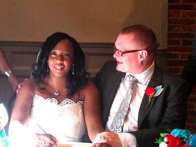 Interracial Marriage Danielle & Sean - London, England, United Kingdom