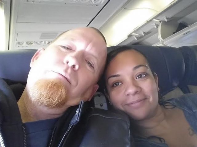 Interracial Couple Monique & Glen - Los Angeles, California, United States