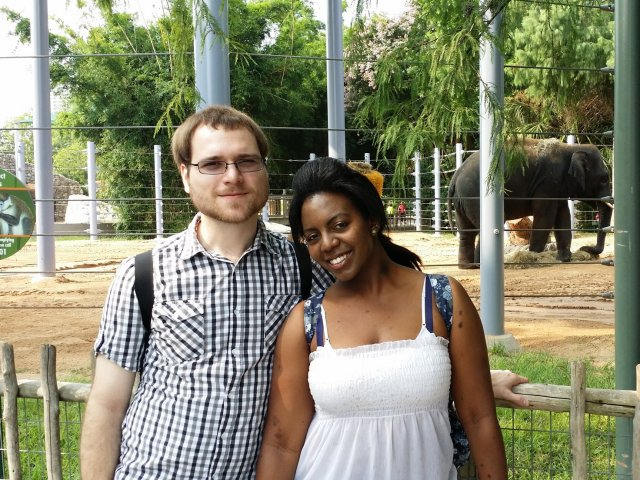 Interracial Couple Stephany & Joshua - Texas, United States