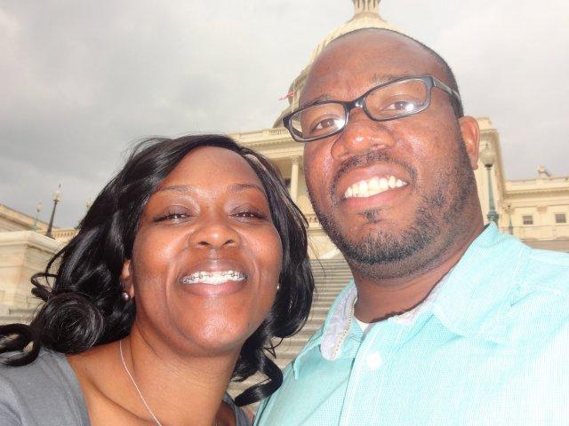 Interracial Couple Narketta & Ricky - Hampton, Virginia, United States