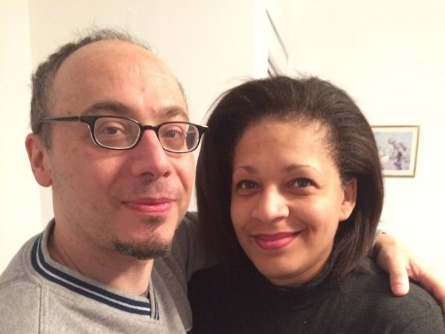 Interracial Couple Freida & Dave - New Jersey, United States