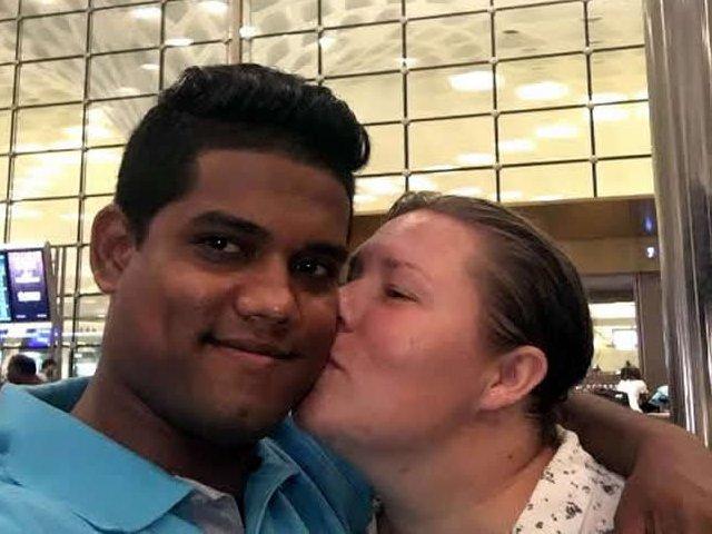 Interracial Marriage Sherai & Satish - Mumbai, Maharashtra, India