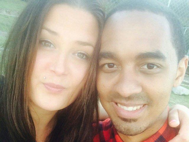 Interracial Couple Rebecca & Roscoe