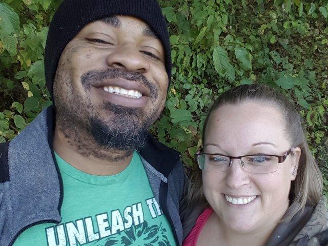 Interracial Couple Christina & David