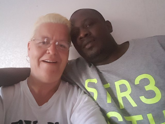 Interracial Couple Ulrika & Maurice - Yaounde, Centre, Cameroon
