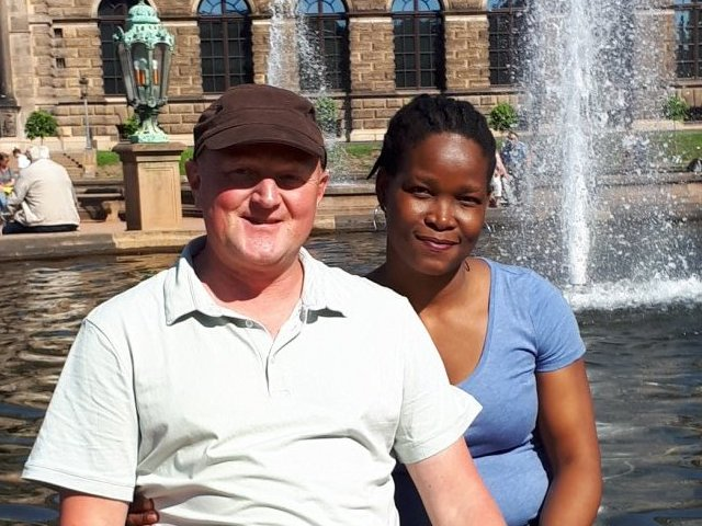 Interracial Marriage Wendy & Markus - Phalaborwa, Northern Province, South Africa