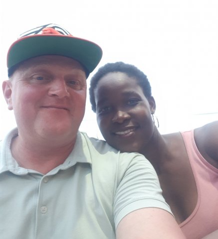 Interracial Marriage - Bonding in Joburg | InterracialDatingCentral - Wendy & Markus