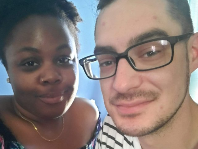 Interracial Couple Denee & David - Carlisle, Pennsylvania, United State