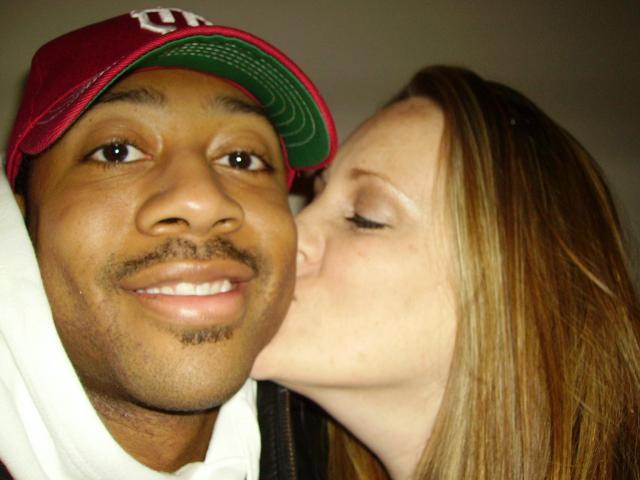 White women looking black men